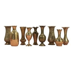 Brass Bud Vase Collection