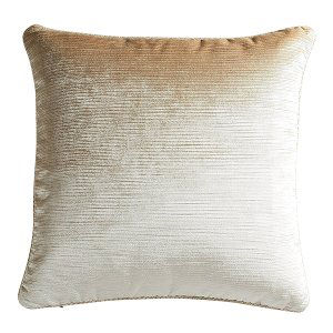 Gold (Pale) Velour Pillow