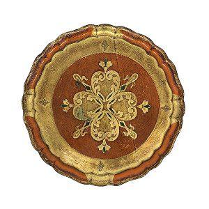 Mila - Round Florentine Tray