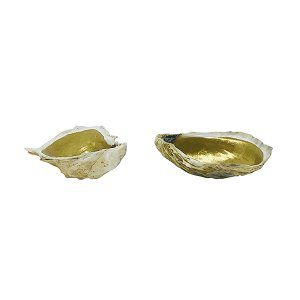 Gold Lined Oyster Shells
