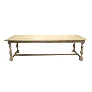 Farm Table - Honey Washed Trestle Table