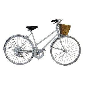 White Vintage Bike - Women's