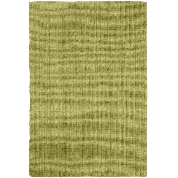 Green Jute Popcorn rug