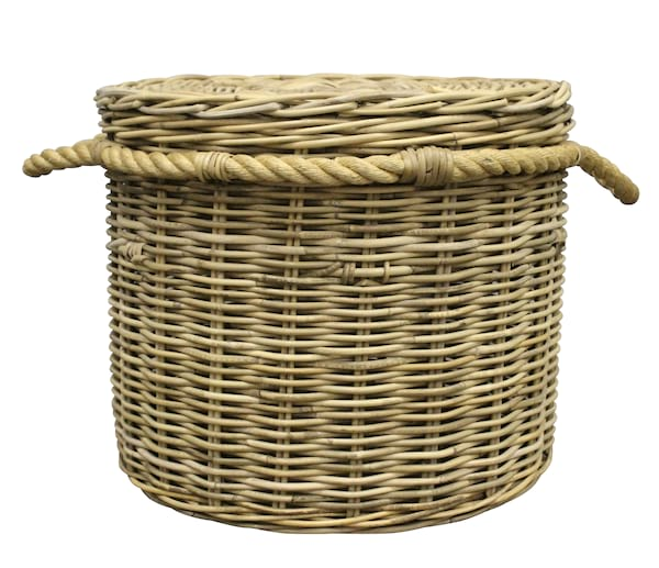 Large Round Wicker Basket