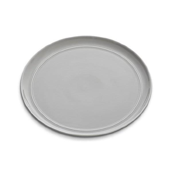 Liz - Grey Dinner Plate