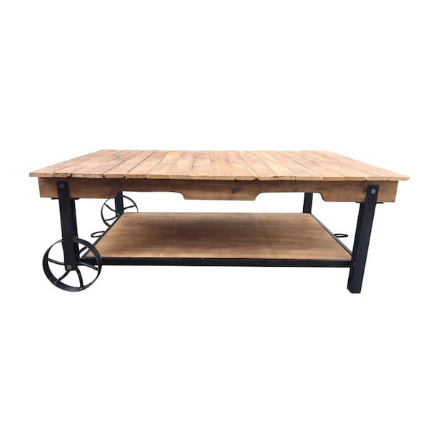 Cade Industrial Coffee Table