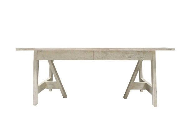 Andrews White Washed Table