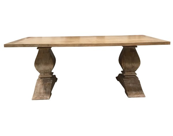 Bara II - Trestle Base Table