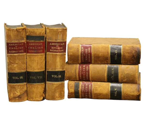Leather Legal Books