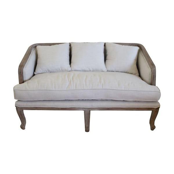 Hampton Linen Sofa
