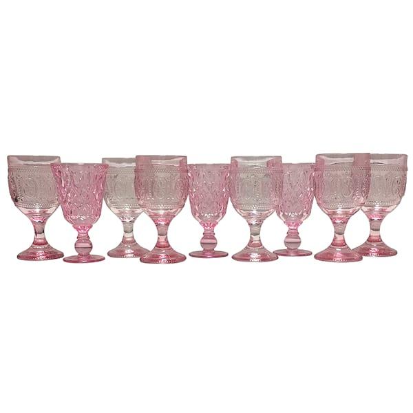 Pink Glassware Mix