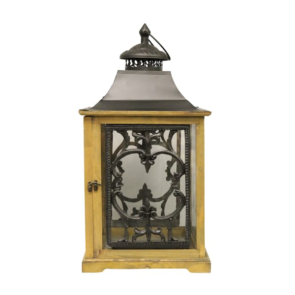 Wooden and Black Lanterns - Small