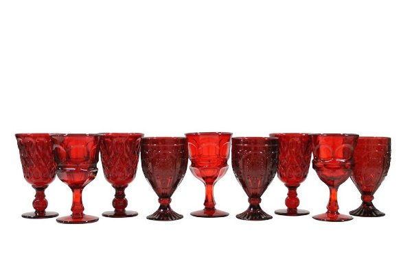 Red Glassware Mix