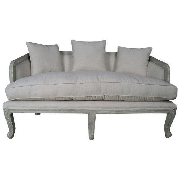 Newport Linen Sofa