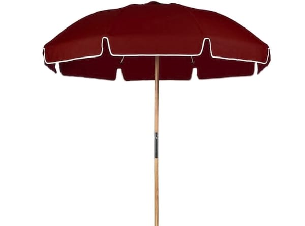 Burgundy Patio Umbrella
