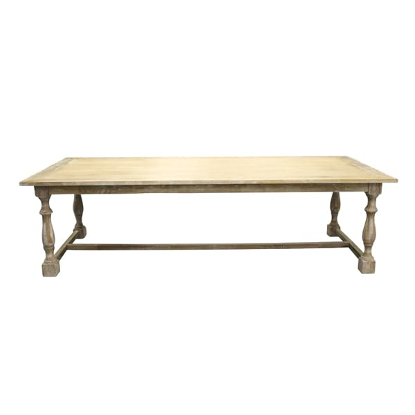 Farm Table - Honey Washed Trestle Table