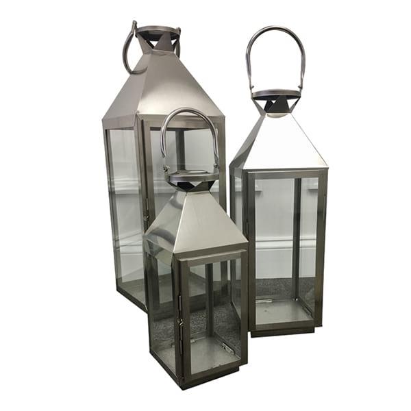 Galvenized Gray Lantern Collection