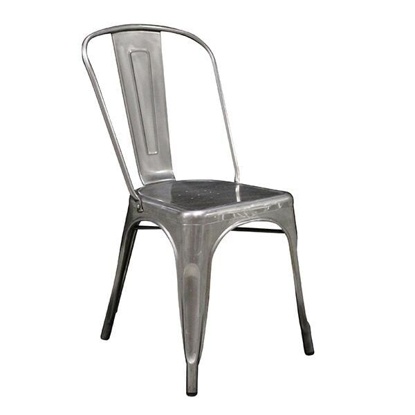Galvanized Metal Chair