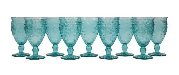 Aqua Glassware