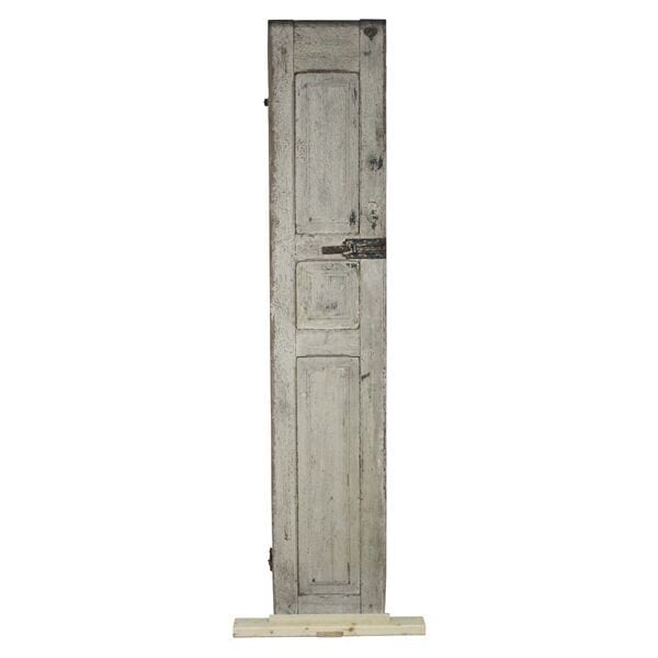 Shutter - Circa 1800's Distressed Off White
