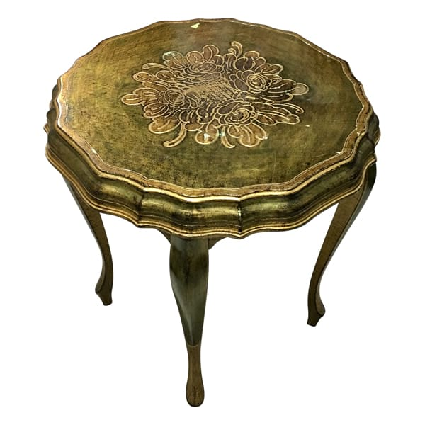 Florentine - Side Table Green