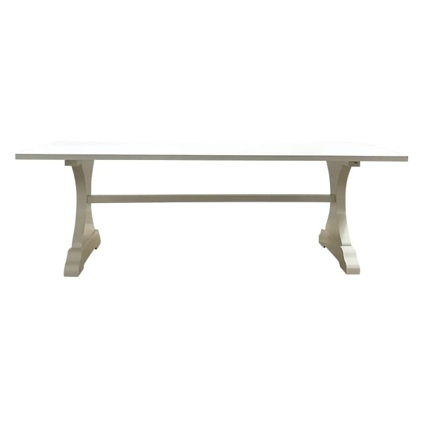Pippin (6ft) White Trestle Table