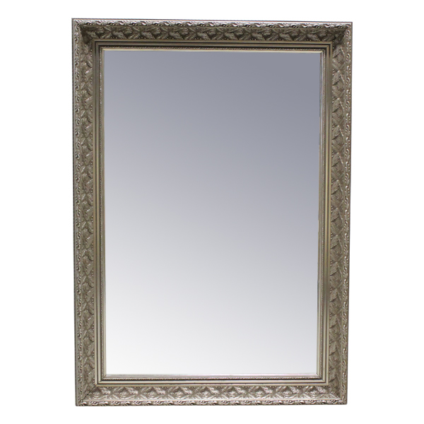 Shyann SIlver Frame Mirror
