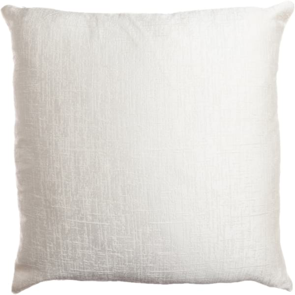 Blade White Pillow