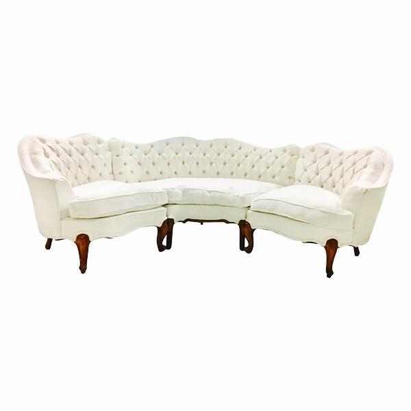 Liza Tufted Sectional Sofa