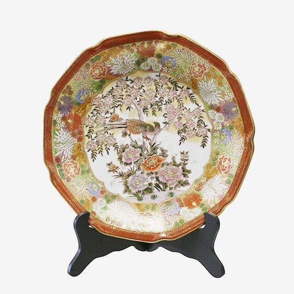 Handpainted Chinoiserie Plate