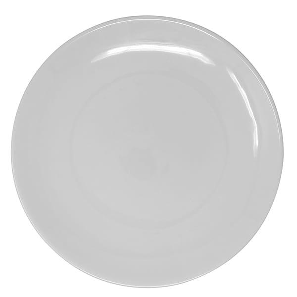 White Shallow Dinner