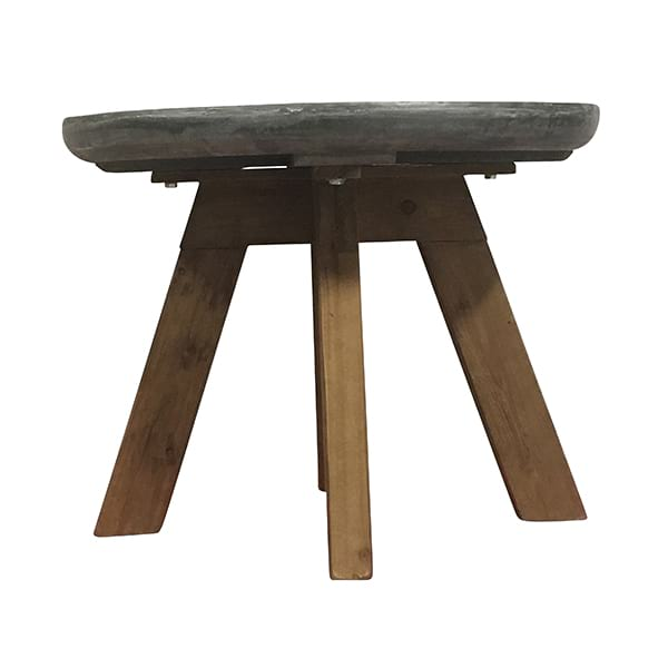 Zetes - Zinc Side Table