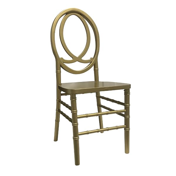 Gold - (Wood) Chanel Back Chair