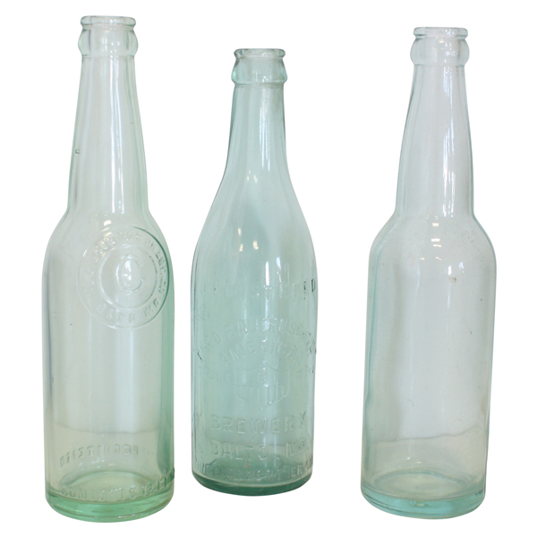 Light Green Bottles