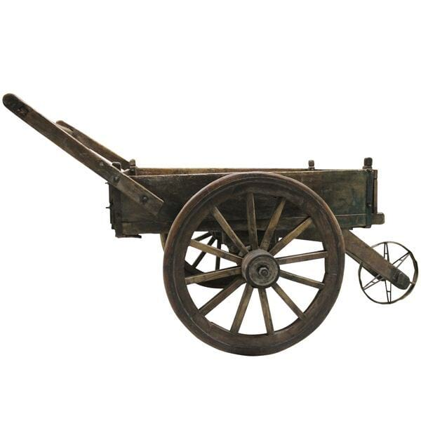 Primitive Wheelbarrow/Cart