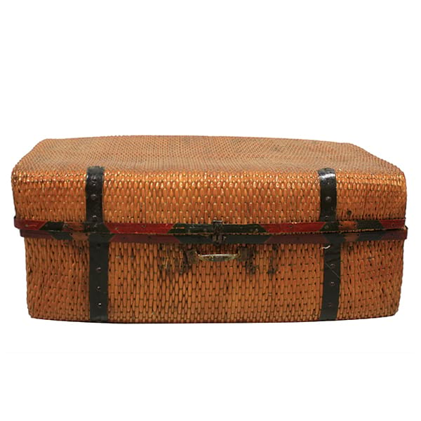 Iniga - Vintage Indian Wicker Trunk