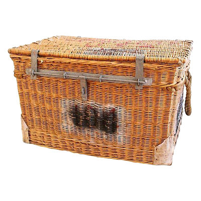 NYC Ballet Wicker Trunk