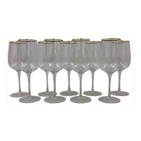 Gold Rim All Purpose Wine