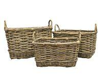Wicker Basket - Set of 3