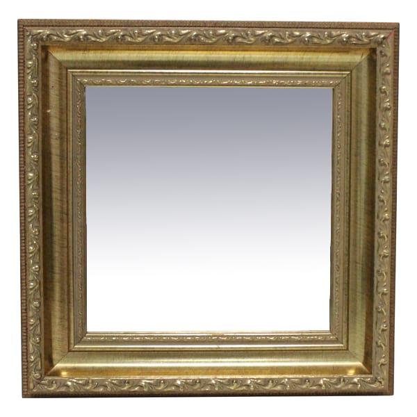 Patricia Petite Gold Square Mirror