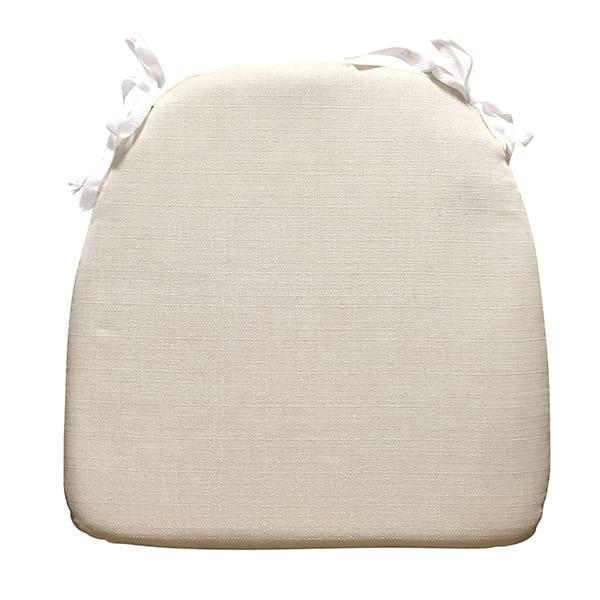 Natural Linen Tie Cushion
