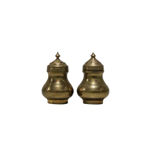 Bradon - Brass Salt & Pepper Holders