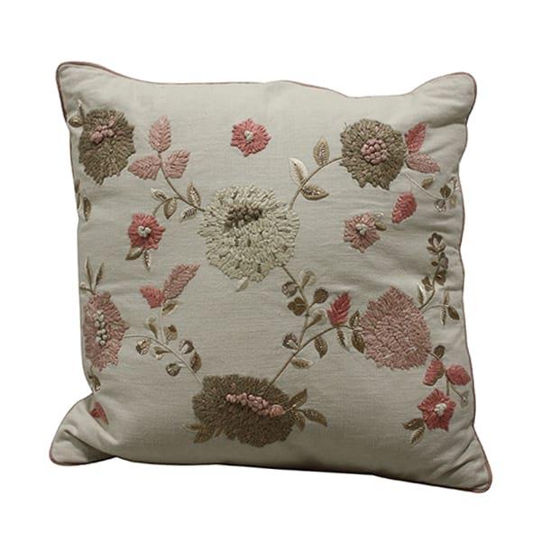 Nicole Flower Pillow