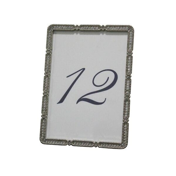 Rhinestone Table Numbers