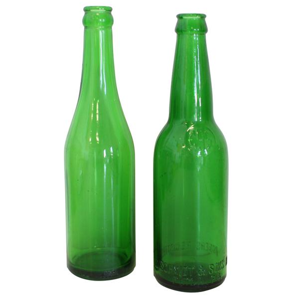 Dark Green Bottles