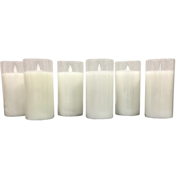 "Flicker 6"" Candle Collection"