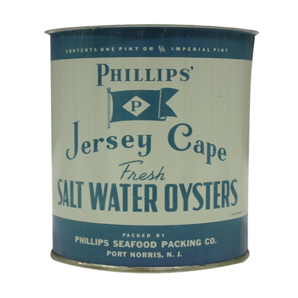 Phillips Jersey Cape  Oyster Cans - 1 pint