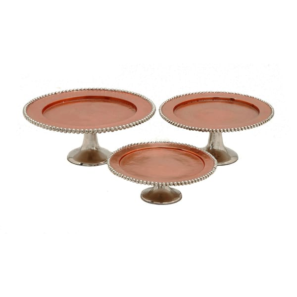 Copper Cake Stand Set