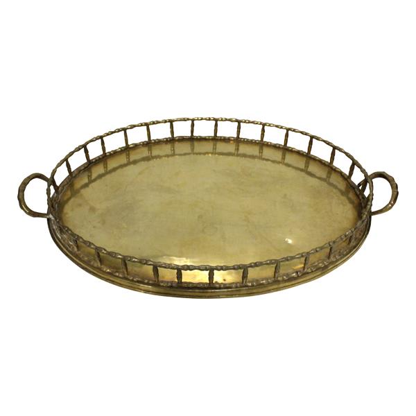 Charleston Brass Tray