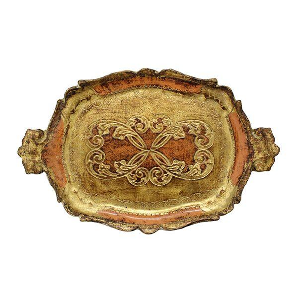 Cora - Petite Florentine Tray